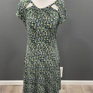 Michael Kors Floral Summer Dress Small